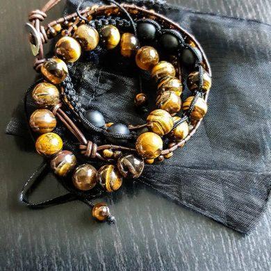 bracelet en pierres naturelles de chez Maklyst