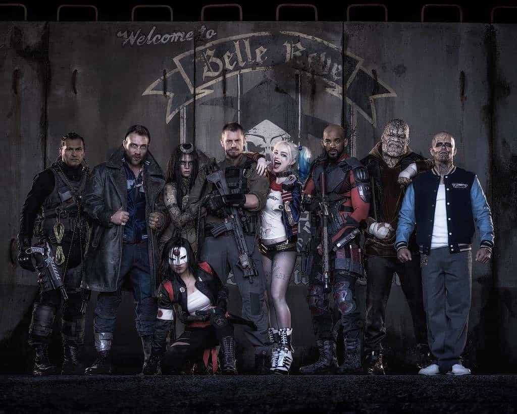Affiche officielle du film suicid squad 2016