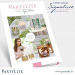 Cartalogue Partylite printemps 2017