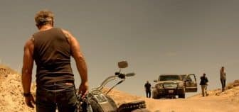 Scene dans bllod father avec Mel Gibson