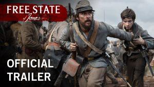 Affiche du trailer du film free states of jones