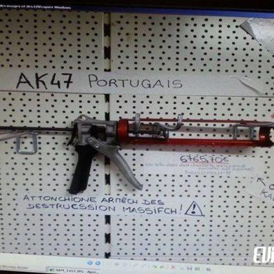AK-47 portugais : arme de destruction massive au portugal
