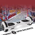 Spin balance board blanc