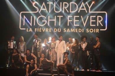 Danseurs et chanteurs saturday night fever