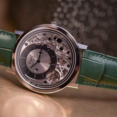 Piaget Altiplano Ultimate : la montre la plus fine au monde